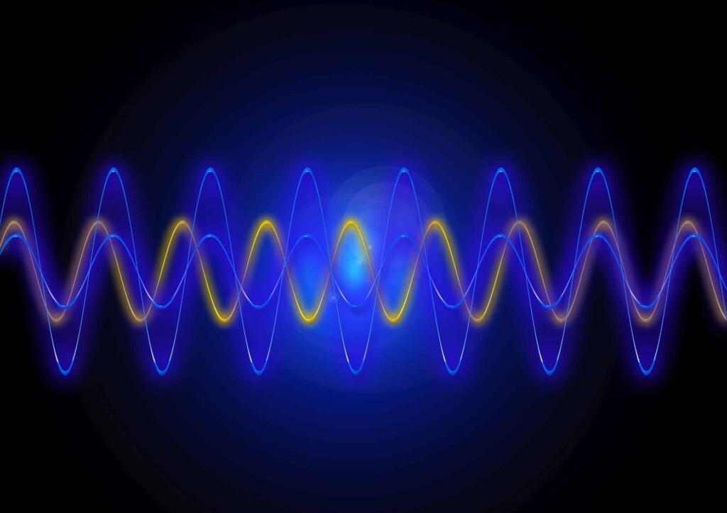 Graficzne przedstawienie fal dźwiękowych